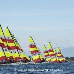 Hobie Multieuropeans Hobie 16 Gold Fleet Day 1. 45