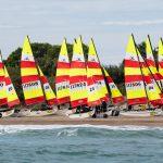 Hobie Multieuropeans Hobie 16 Gold Fleet Day 1. 56